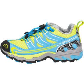 La Sportiva Falkon Low Hardloopschoenen Kinderen geel/blauw